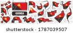 vector set of the national flag ... | Shutterstock .eps vector #1787039507