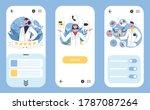 multidisciplinary hospital...   Shutterstock .eps vector #1787087264