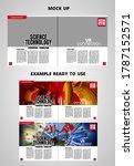 brochure  ebook or presentation ... | Shutterstock .eps vector #1787152571