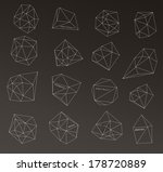 hipster cosmic bubble and label ...   Shutterstock .eps vector #178720889
