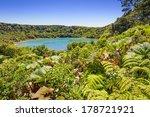 Beautiful Blue Lake Near The...
