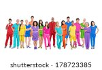 diversity of life  large group... | Shutterstock . vector #178723385