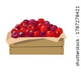 Cherries In A Wooden Box....