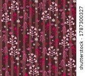 burgundy tones seamless pattern ... | Shutterstock .eps vector #1787300327