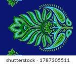 abstract motif butta pattern...   Shutterstock .eps vector #1787305511
