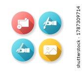 artist work elements flat...   Shutterstock .eps vector #1787309714