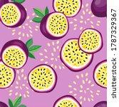 hand drawn seamless pattern... | Shutterstock . vector #1787329367