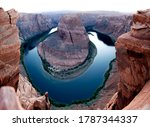 """horseshoe Bend"" In Sunset Near ..."