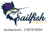 Sailfish Logo Template. Great...