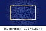 vector design of abstract blue... | Shutterstock .eps vector #1787418344