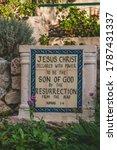 Garden Tomb Holy Land Jerusale...