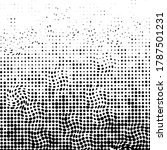 abstract futuristic halftone... | Shutterstock .eps vector #1787501231