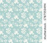 seamless pattern. cute little... | Shutterstock . vector #1787553494