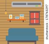 living room | Shutterstock .eps vector #178763297