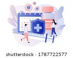 vaccination concept. time to...   Shutterstock .eps vector #1787722577