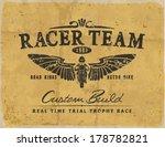 vintage race car and motorbike...