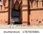 Women Tourists Cycling In The...