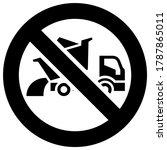 do not dump cargo forbidden... | Shutterstock .eps vector #1787865011