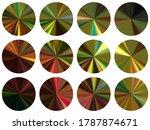 round metallic gradient ux...