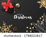 christmas banner. with... | Shutterstock .eps vector #1788022817