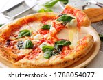 Italian Pizza Margherita On...
