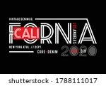 california typography  for t...   Shutterstock .eps vector #1788111017