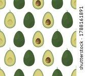 background image of avocado...   Shutterstock .eps vector #1788161891