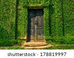 Old Wooden Door In The Wall...