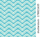 lace seamless pattern with...   Shutterstock . vector #178821635