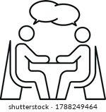 vector editable stroke line... | Shutterstock .eps vector #1788249464