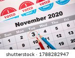 November 3  2020  Red And Blue...