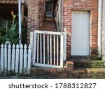 Wooden Entry Gate And Fence...