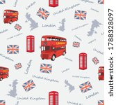 united kingdom pattern  uk... | Shutterstock .eps vector #1788328097