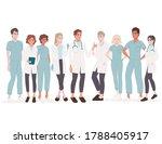 characters of cute cartoon...   Shutterstock .eps vector #1788405917
