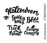 hallowen quotes collection ... | Shutterstock .eps vector #1788454067