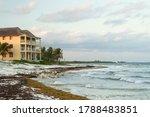 Beach Resort In A Tropical...