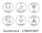 vector set of badges and logo... | Shutterstock .eps vector #1788491807