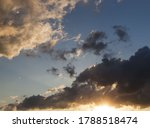 Blue Sky With Clouds During...