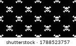 skull halloween seamless...   Shutterstock .eps vector #1788523757