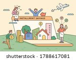real estate assets are built on ... | Shutterstock .eps vector #1788617081