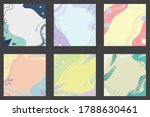 simple pastel background for... | Shutterstock .eps vector #1788630461