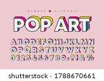 modern pop art 3 dimensional... | Shutterstock .eps vector #1788670661