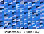 colorful triangle background  ... | Shutterstock .eps vector #178867169