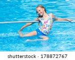 happy girl in the summer... | Shutterstock . vector #178872767