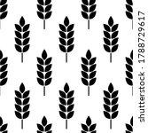 wheat seamless pattern. bakery...   Shutterstock .eps vector #1788729617