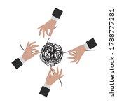 solving business problem... | Shutterstock .eps vector #1788777281