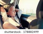little boy in a child safety... | Shutterstock . vector #178882499