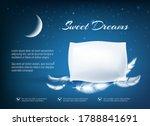 night dream pillow. realistic... | Shutterstock .eps vector #1788841691