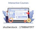 it education online service or...   Shutterstock .eps vector #1788869597