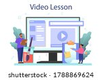 art school education online... | Shutterstock .eps vector #1788869624